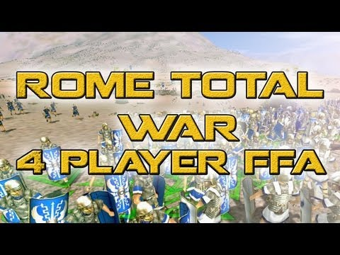 A Night With Heph: Rome Total War 4 player FFA online battle.