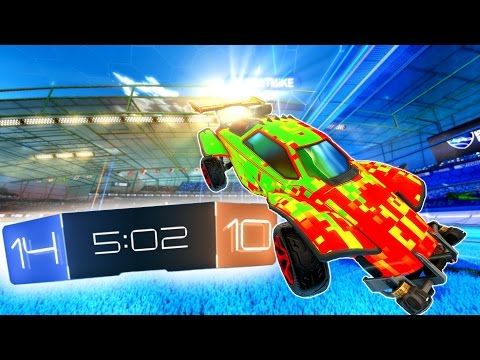"Rocket League ""King of the Hill"" Game"