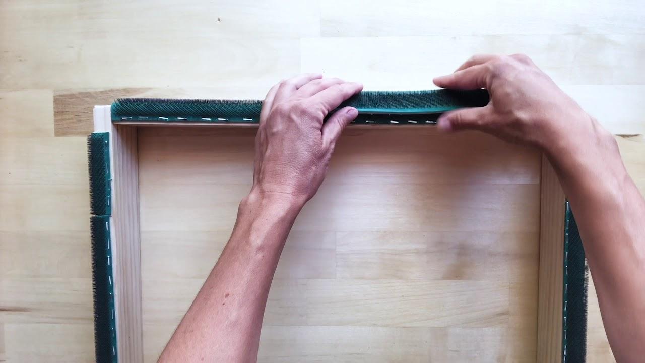 How To Make A Gripper Strip Frame You