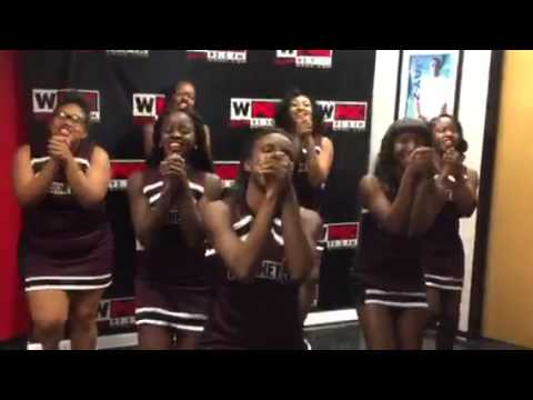 Fairmont Heights High School Cheerleaders on WPGC