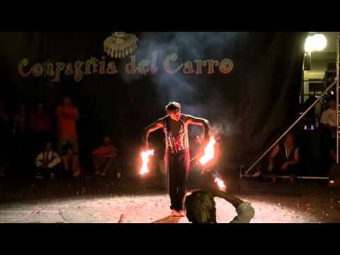 Busker Festival 2013  Staranzano  fire show