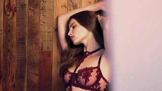 The Bordeaux lingerie collection by Fleur of England 2019 - model only