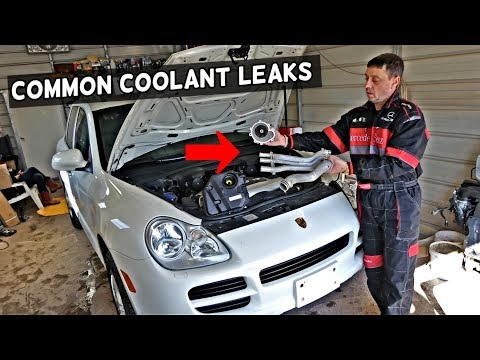 Repeat Porsche Cayenne: How To Replace The Air Oil Separator