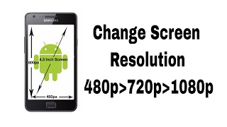 Change Screen Resolution in Any Android (Root)