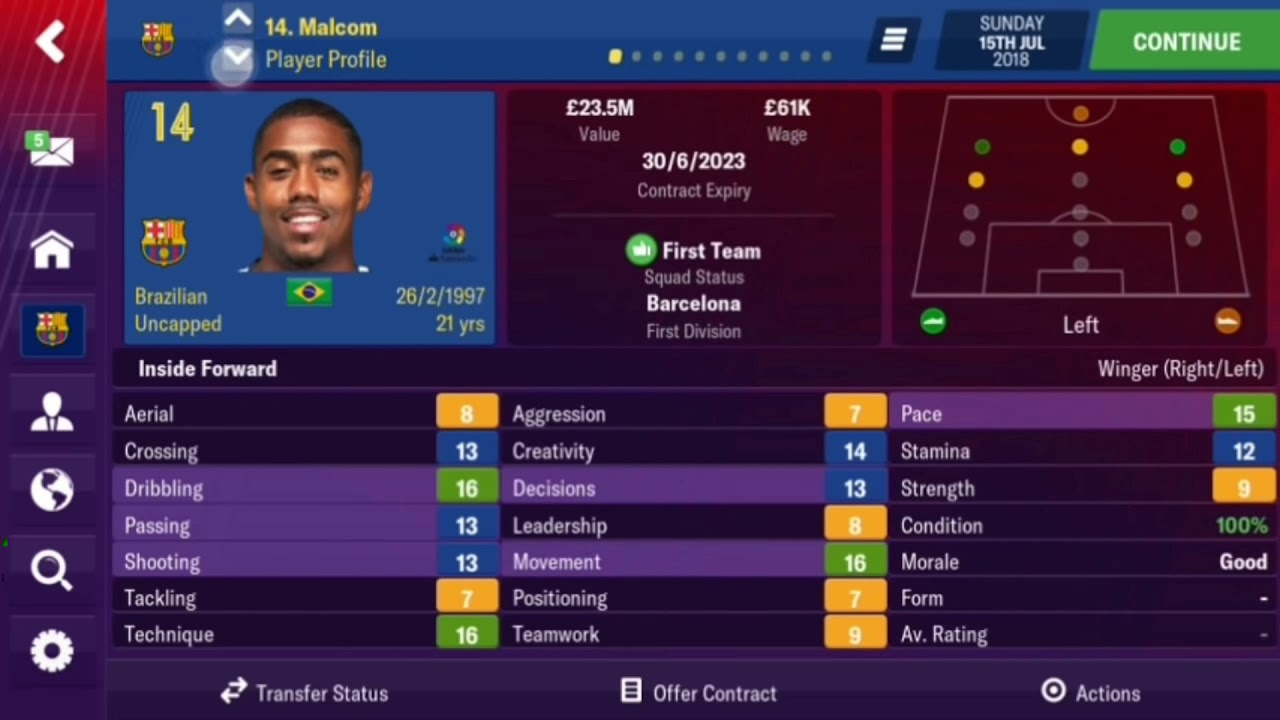 Football Manager 2019 Mobile 10.1.0 APK MOD (Real Names