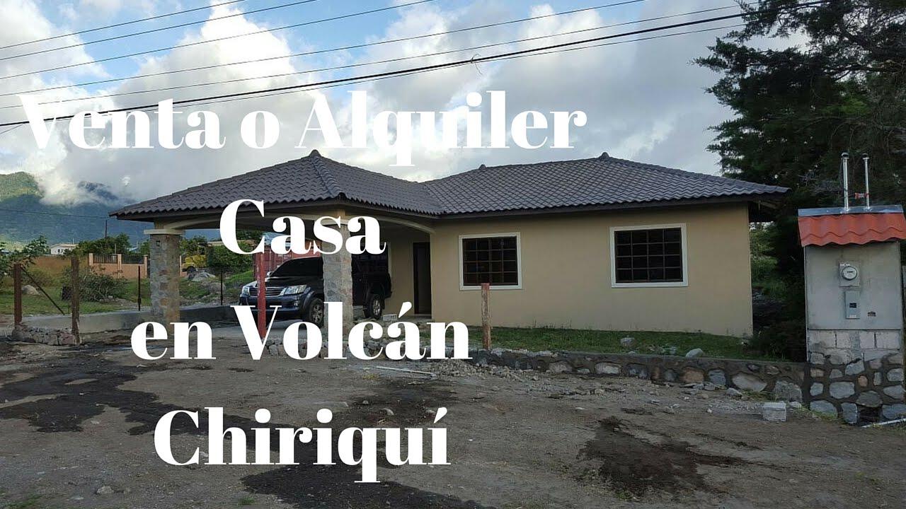Venta o alquiler de casa en volcan chiriqu home sale or for Busco casa en renta