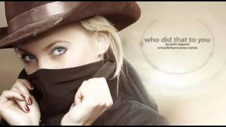 John Legend - Who Did That To You (DJANGO unchained sountrack - schaeferharmonies Remix)