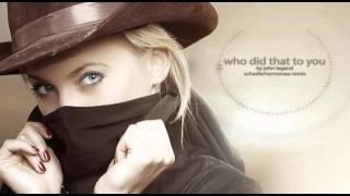 John Legend - Who Did That To You (DJANGO unchained sountrack - schaeferharmonies Remix)