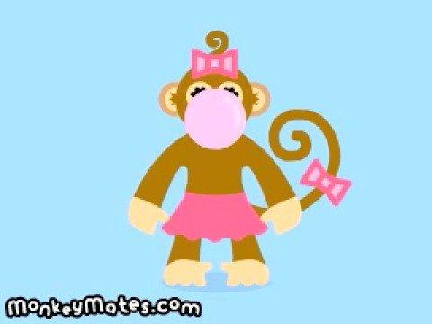 Monkey Mates - Bubblegum Momo