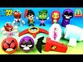 2019 FULL WORLD SET McDONALD'S TEEN TITANS GO! HAPPY MEAL TOYS TTG DC COMICS US LATIN UK EUROPE ASIA