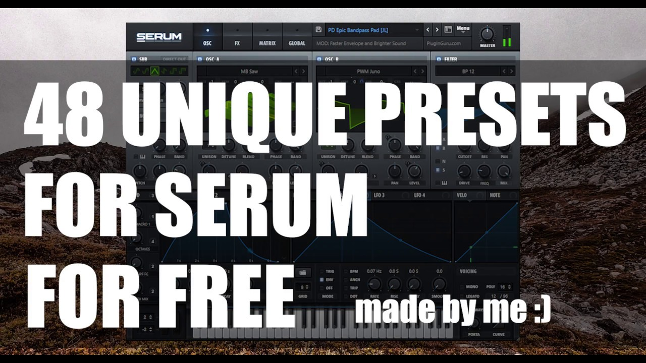 48 FREE SERUM PRESETS (My best ones)