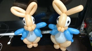 造型氣球 彼得兔 Peter rabbit balloon twisting