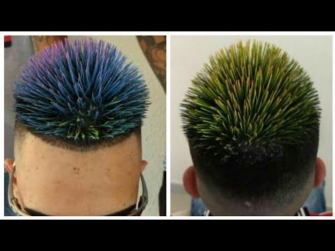 Spiky Haircut