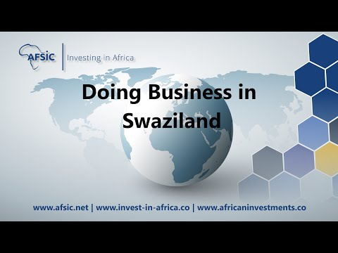Business in Swaziland - Doing Business in Swaziland