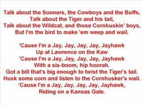 University of Kansas Fight Song