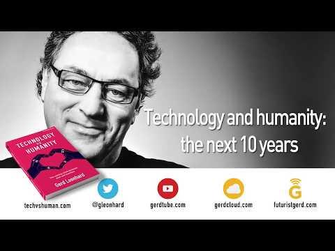 Technology vs Humanity: Keynote at Dutch Future Society by Futurist Gerd Leonhard