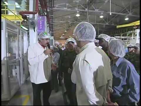 Presidente Nicolás Maduro visita empresa Kimberly CLark en Aragua, 21 julio 2016, completo