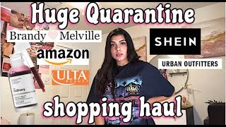 Quarantine shopping haul unboxing + Try On