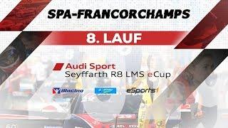 8. Lauf Audi Sport Seyffarth R8 LMS eCup | Spa-Francorchamps