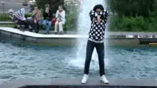 Tecktonik dance from russian girl / Тектоник из России от Тани
