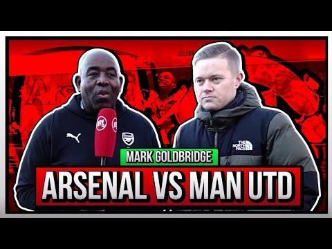 Arsenal vs Man Utd | Lacazette Will Make Mark Goldbridge Eat His Words! (Feat Utd Stand)