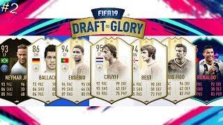 5 ICON - A LEGJOBB DRAFTOM FIFA 19-BEN | FIFA 19 DRAFT TO GLORY #2