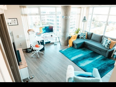 Clean, Modern & Minimal Design // Downtown Bellevue — Seattle Apartment Tour