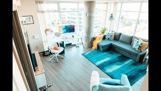 Clean, Modern & Minimal Design // Downtown Bellevue — Seattle Apartment Tour