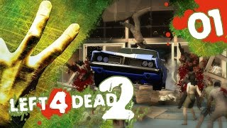 Left 4 Dead 2! Co-Op Campaign w/ PokeaimMD, Akamaru, Gator & steve Ep1 - First Try