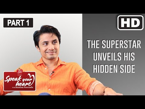 Ali Zafar's Journey From An Introvert To The Heart-throb Of Millions | Speak Your Heart | Part I