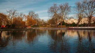 Beautiful Little Venice In London Stock Video