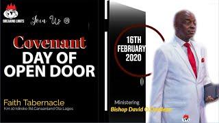 DOMI STREAM: COVENANT DAY OF OPEN DOOR SERVICE | 16th, FEB. 2020