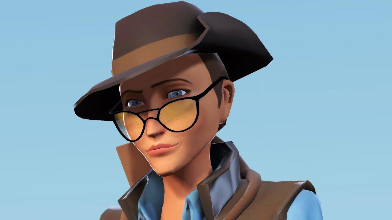 Team Fortress 2 Freak Fortress 2 Female Sniper Gameplay Youtube