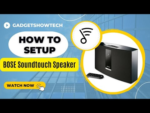 bose 20 soundtouch. how to setup the bose soundtouch 20 series iii wireless speaker soundtouch s
