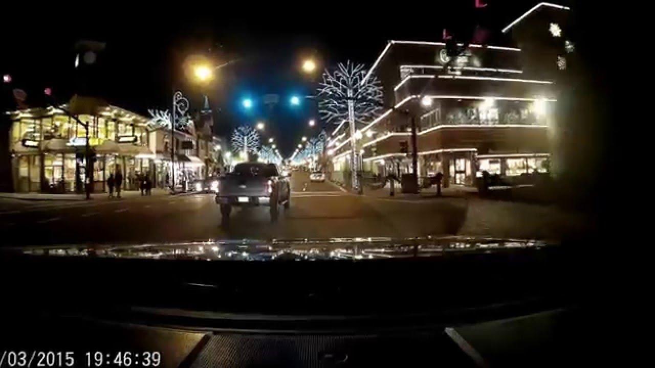 Gatlinburg Christmas.Drive Through Gatlinburg Christmas Lights