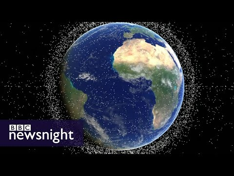 Time To Take Out The Space Trash – BBC Newsnight