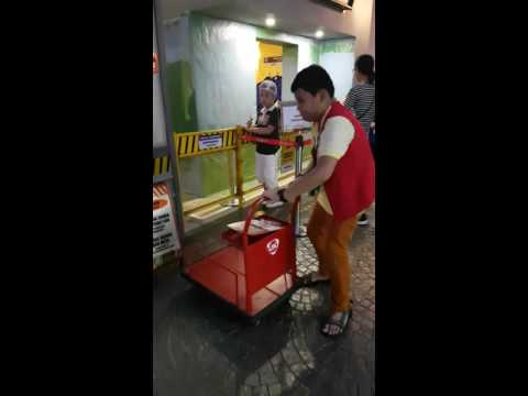 LBC Courier/Delivery Man at Kidzania Manila