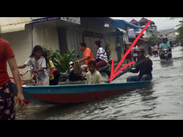 How the boat drive on the road