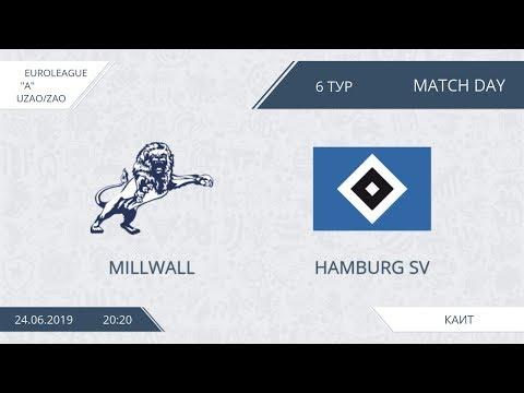 AFL19. Euroleague. UZAO/ZAO. Division A. Day 6. Millwall - Hamburg SV.