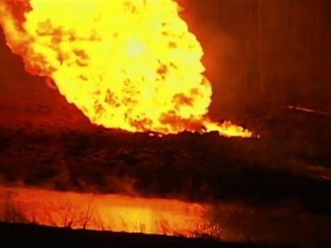 Raw: Gas Pipeline Rupture North of Kansas City