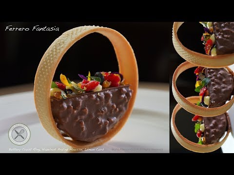Ferrero Fantasia Dessert – Bruno Albouze – The Real Deal