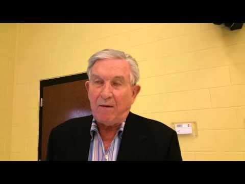 Johnny Majors speaks with The Lexington Progress