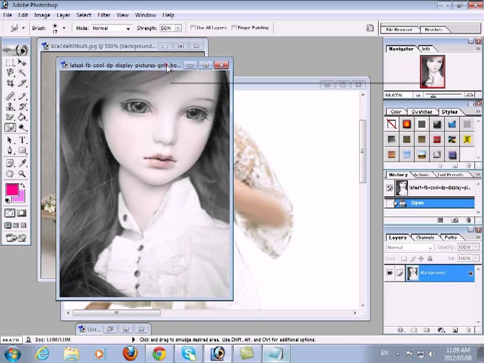 Smudge tool adobe photoshop 7 0 youtube youtube smudge tool adobe photoshop 7 0 youtube sciox Gallery