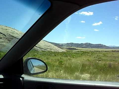 Oregon Trail Final Approach to Independence Rock Wyoming