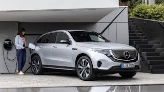 2019 Mercedes-Benz EQC Electric SUV - First Look