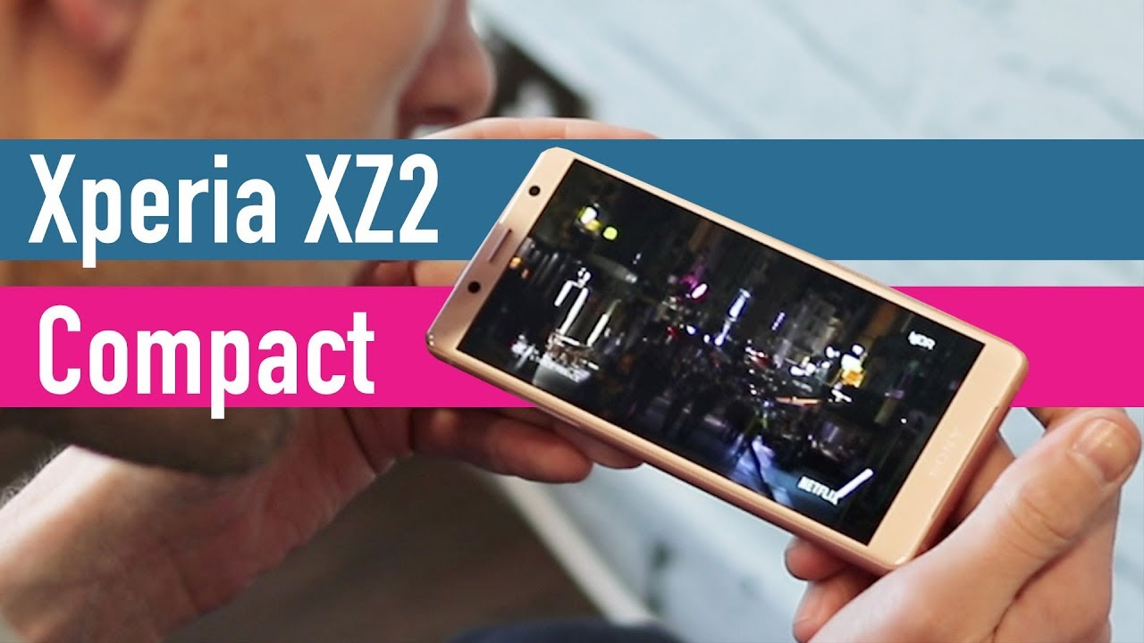 Sony Xperia XZ2 Compact hand-on - MWC 2018