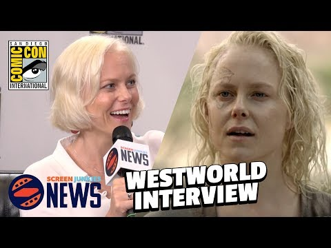 Westworld Star Teases Season 2 At SJ News Studio!