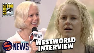 Westworld Star Teases Season 2 At SJ News Studio!