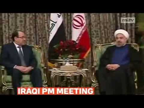 mitv - Iraqi Prime Minister Nuri al-Maliki met with Iran's Supreme Leader Khamenei in Tehran