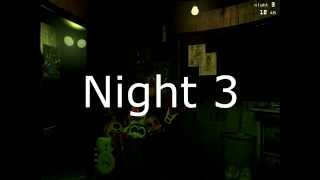 FNAF 3 Phone Calls (Night 1-6)